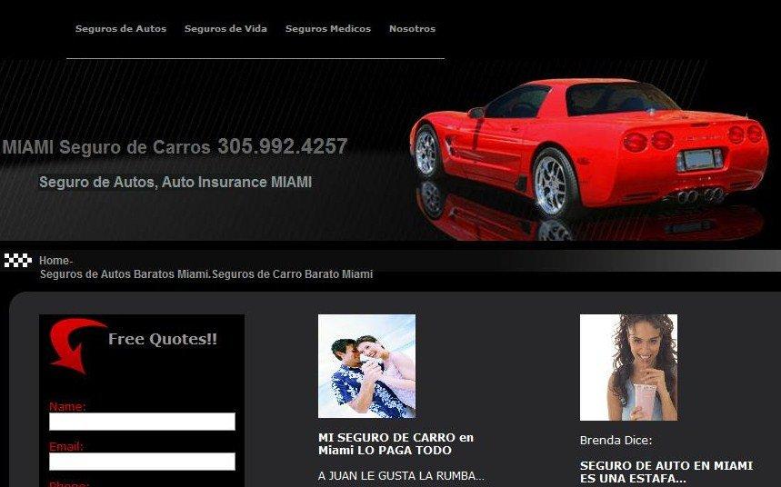 seguros de carros a bajo costo en miami
