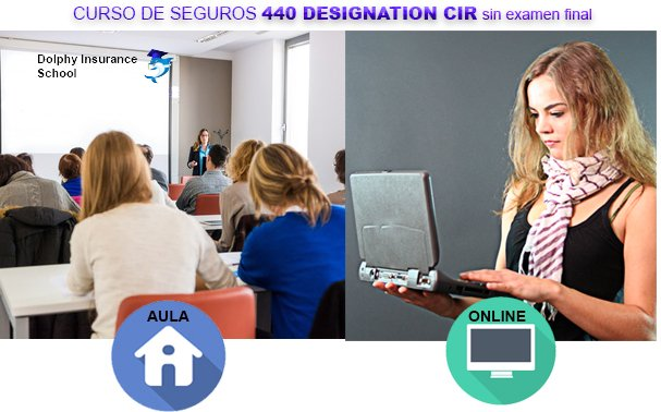 Licencia 440 Online de Seguros EN ESPANOL, SIN EXAMEN DEL ESTADO